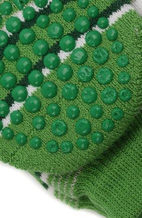 Детские носки FALKE зеленого цвета, арт. 12268. | Фото 2