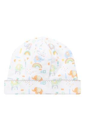 Детского хлопковая шапка KISSY KISSY разноцветного цвета, арт. KN505984N | Фото 1