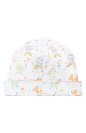 Детского хлопковая шапка KISSY KISSY разноцветного цвета, арт. KN505984N | Фото 2