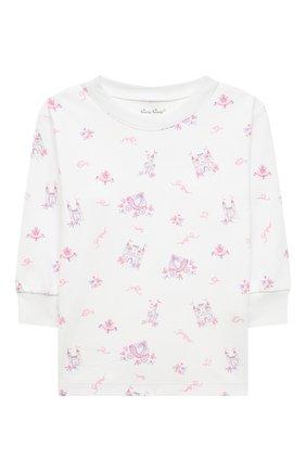 Детский хлопковая пижама KISSY KISSY розового цвета, арт. KG605911I | Фото 2
