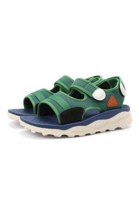 Детские сандалии NATURINO зеленого цвета, арт. 0010502901/01/33-38   Фото 1