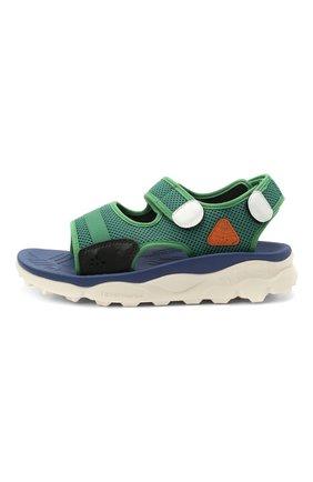 Детские сандалии NATURINO зеленого цвета, арт. 0010502901/01/33-38   Фото 2