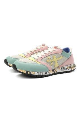Детские кроссовки PREMIATA WILL BE разноцветного цвета, арт. ZAC ZAC/12-91536/JUN | Фото 1