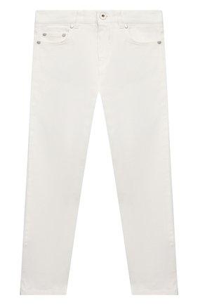 Детские джинсы MONCLER белого цвета, арт. G1-954-2A713-20-54A2A/8-10A   Фото 1