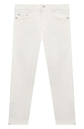 Детские джинсы MONCLER белого цвета, арт. G1-954-2A713-20-54A2A/4-6A   Фото 1