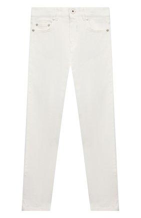 Детские джинсы MONCLER белого цвета, арт. G1-954-2A713-20-54A2A/12-14A   Фото 1