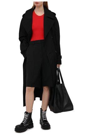 Женское боди MAISON MARGIELA красного цвета, арт. S29NA0150/S20518 | Фото 2