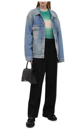 Женская джинсовая куртка BALENCIAGA голубого цвета, арт. 657608/TDW15 | Фото 2