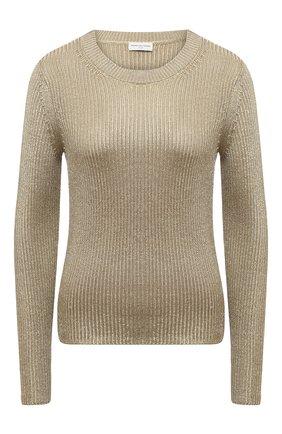 Женский свитер из вискозы DRIES VAN NOTEN золотого цвета, арт. 211-11211-2703 | Фото 1