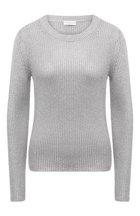 Женский свитер из вискозы DRIES VAN NOTEN серебряного цвета, арт. 211-11211-2703 | Фото 1