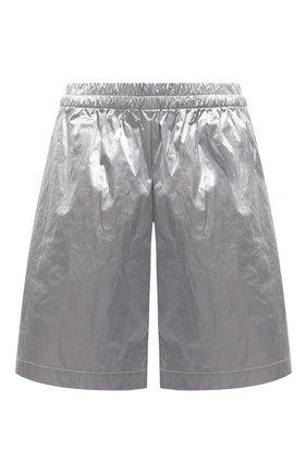 Женские шорты DRIES VAN NOTEN серебряного цвета, арт. 211-10954-2158 | Фото 1