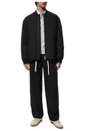 Мужские кожаные кеды replica MAISON MARGIELA белого цвета, арт. S57WS0236/P1895 | Фото 2