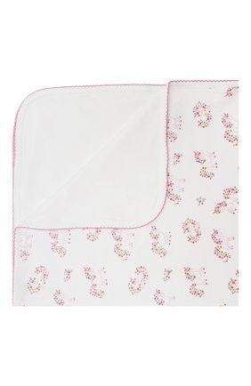 Детского хлопковое одеяло KISSY KISSY розового цвета, арт. KG7059980 | Фото 1