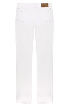 Детские джинсы POLO RALPH LAUREN белого цвета, арт. 323832717 | Фото 2 (Материал внешний: Хлопок; Ростовка одежда: 10 - 11 лет | 140 - 146см, 12 лет | 152 см, 13 - 15 лет | 158 см, 16 лет | 164 см, 9 лет | 134 см)