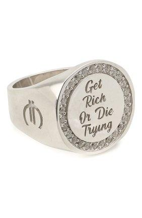 Женское кольцо LEVASHOVAELAGINA серебряного цвета, арт. rich/r | Фото 1