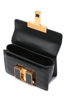 Женская сумка 001 small TOM FORD черного цвета, арт. L1384E-LCL150 | Фото 4