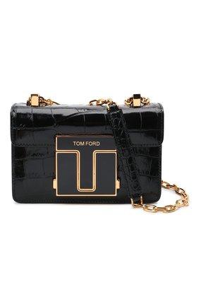 Женская сумка 001 small TOM FORD черного цвета, арт. L1384E-LCL150 | Фото 6