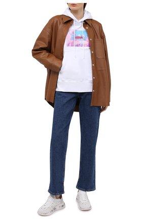 Женские кожаные кроссовки layla PREMIATA белого цвета, арт. LAYLA/VAR5217 | Фото 2