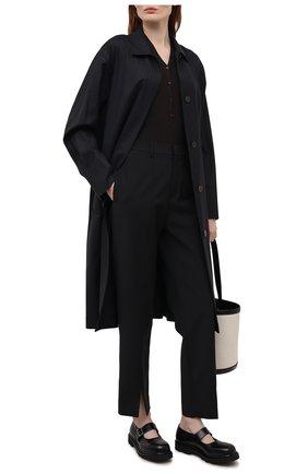 Женская кожаные туфли brigade MARNI черного цвета, арт. MJMS005302/P4077 | Фото 2