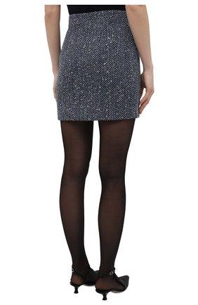 Женская юбка ALESSANDRA RICH синего цвета, арт. FAB1441-F3188 | Фото 4
