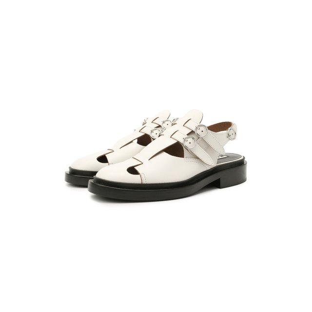 Кожаные туфли Jil Sander