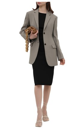 Женская юбка BURBERRY черного цвета, арт. 8040281 | Фото 2