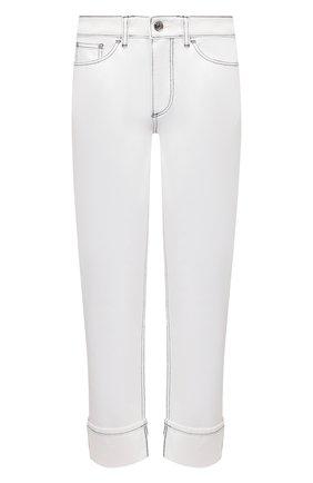 Женские джинсы BURBERRY белого цвета, арт. 8039282 | Фото 1