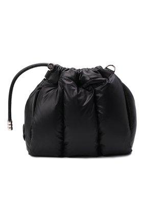 Женская сумка seashell mini MONCLER черного цвета, арт. G1-09B-5L508-10-02STJ   Фото 1