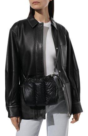 Женская сумка seashell mini MONCLER черного цвета, арт. G1-09B-5L508-10-02STJ   Фото 2