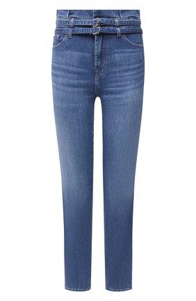 Женские джинсы 7 FOR ALL MANKIND синего цвета, арт. JSQAR510RT   Фото 1