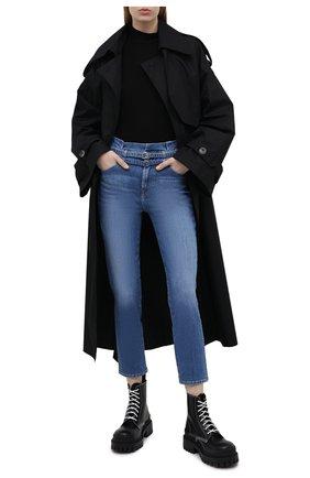 Женские джинсы 7 FOR ALL MANKIND синего цвета, арт. JSQAR510RT   Фото 2
