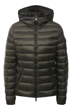 Женская пуховая куртка bles MONCLER хаки цвета, арт. G1-093-1A128-00-5396Q | Фото 1