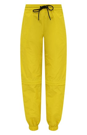 Женские джоггеры MSGM желтого цвета, арт. 3042MDP112 217305 | Фото 1