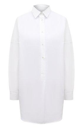 Женская хлопковая рубашка SARA ROKA белого цвета, арт. CARLA/02-S21 | Фото 1