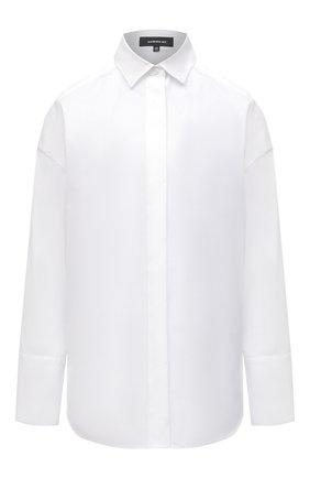 Женская хлопковая рубашка BARBARA BUI белого цвета, арт. X1407GHP | Фото 1