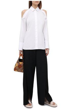 Женская хлопковая рубашка BARBARA BUI белого цвета, арт. X1407GHP | Фото 2