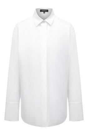 Женская хлопковая рубашка BARBARA BUI белого цвета, арт. X1406GHP | Фото 1