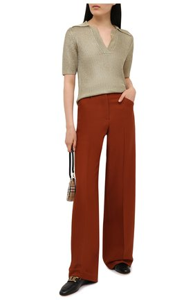 Женские кожаные лоферы TOD'S черного цвета, арт. XXW79A0DD00NF5 | Фото 2
