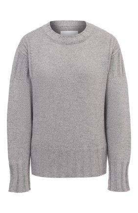 Женский кашемировый свитер JIL SANDER серого цвета, арт. JPPS759521-WSY10028   Фото 1
