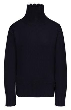 Женский кашемировый свитер JIL SANDER синего цвета, арт. JPPS759520-WSY10028   Фото 1