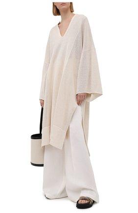 Женская хлопковая туника JOSEPH белого цвета, арт. JF005336 | Фото 2