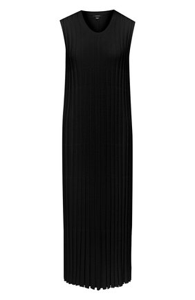 Женское платье из вискозы JOSEPH черного цвета, арт. JF005332 | Фото 1