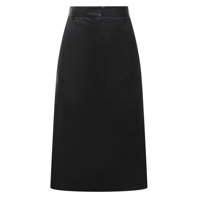 Кожаная юбка Joseph