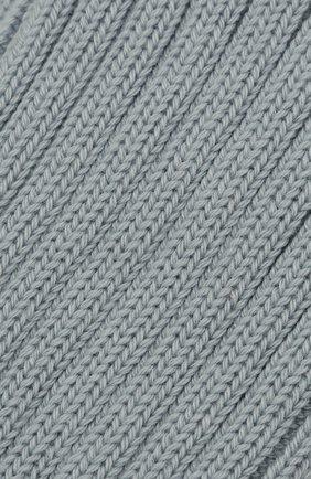 Женские хлопковые носки MAISON MARGIELA голубого цвета, арт. S51TL0044/S17710 | Фото 2