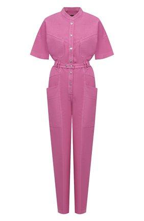 Женский комбинезон из льна и хлопка ISABEL MARANT розового цвета, арт. CB0316-21E012I/ETUNDRA | Фото 1
