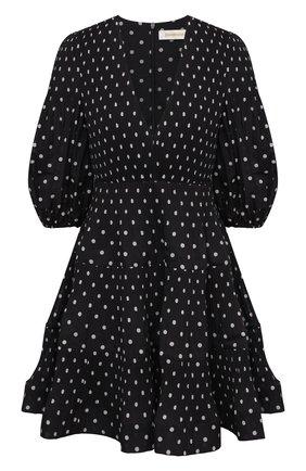 Женское платье ZIMMERMANN черно-белого цвета, арт. 1211DRB0T   Фото 1