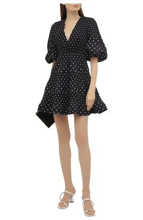 Женское платье ZIMMERMANN черно-белого цвета, арт. 1211DRB0T   Фото 2