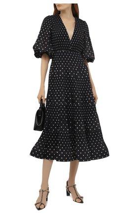 Женское платье ZIMMERMANN черно-белого цвета, арт. 1212DRB0T   Фото 2