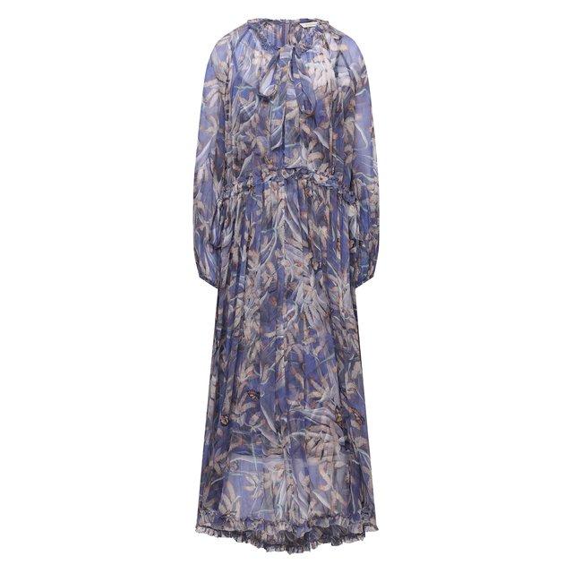 Шелковое платье Zimmermann