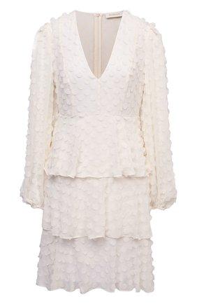 Женское платье ZIMMERMANN белого цвета, арт. 1327DRB0T | Фото 1